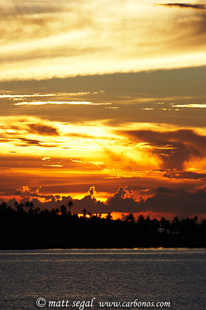 Image 900, Sunset. Tahaa, Society Islands, French Polynesia, Matt Segal, all rights reserved worldwide.  Keywords: Sunset